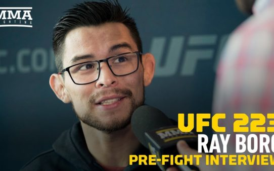 UFC 223: Ray Borg Lost Respect For 'More Arrogant Than' Expected Demetrious Johnson