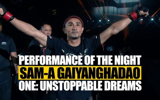 ONE Feature | Sam-A Gaiyanghadao's Phenomenal Performance | ONE: UNSTOPPABLE DREAMS | Singapore