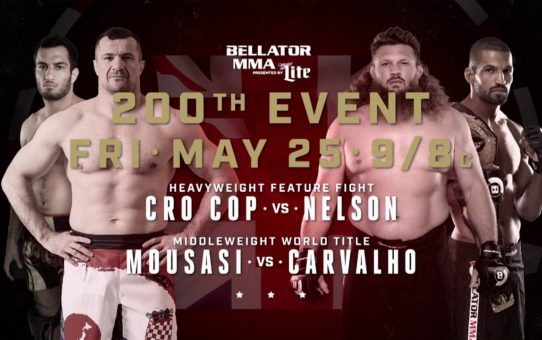 Bellator 200 – FRIDAY, May 25th on Paramount Network!