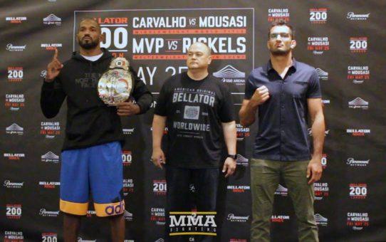 Bellator 200 Media Day Staredowns – MMA Fighting