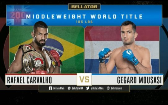 Bellator 200 – Rafael Carvalho vs. Gegard Mousasi FULL FIGHT HIGHLIGHTS