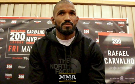 Bellator 200: Rafael Carvalho Sees 'Lack of Respect' For Current Bellator Champs – MMA Fighting