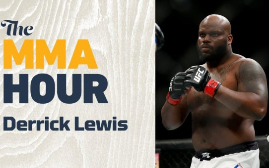 Derrick Lewis: 'Luck' Of Facing 'Old Guys' With No Chins Played A Big Part In Ngannou's Rise