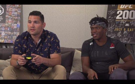 EA SPORTS UFC 3 Live Stream: KSI vs Chris Weidman Gameplay