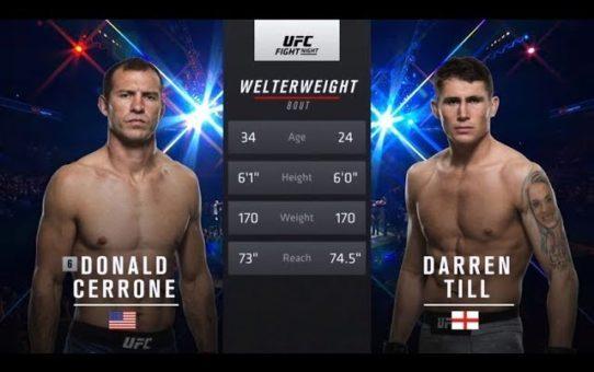 Fight Night Liverpool Free Fight: Darren Till vs Donald Cerrone