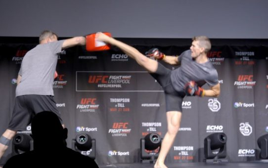 Fight Night Liverpool: Open Workout Highlights