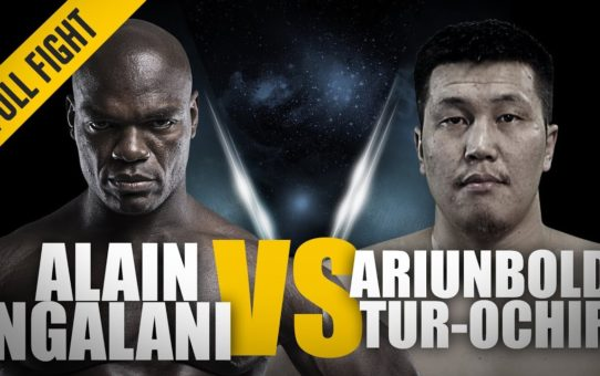 ONE: Full Fight | Alain Ngalani vs. Ariunbold Tur-Ochir | Impressive Striking Power | March 2018