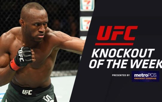 KO of the Week: Kamaru Usman vs Sergio Moraes