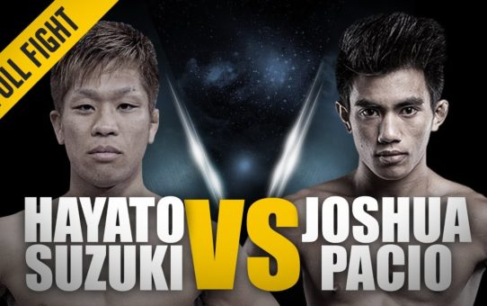 ONE: Full Fight | Hayato Suzuki vs. Joshua Pacio | A Spectacular Debut | August 2017