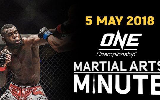 Martial Arts Minute | 5 May 2018