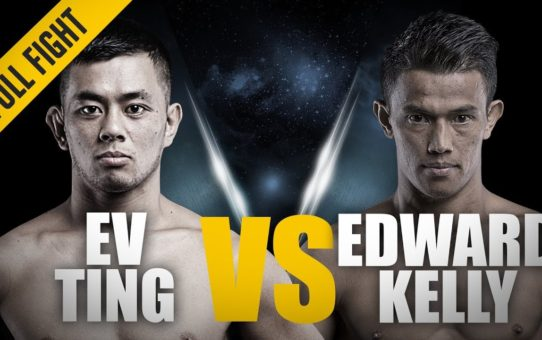 ONE: Full Fight | Ev Ting vs. Edward Kelly | Epic Head Kick KO | October 2014