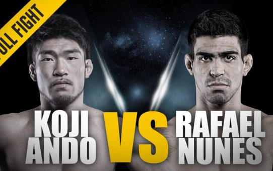 ONE: Full Fight | Koji Ando vs. Rafael Nunes | RNC Locked In Deep | July 2014