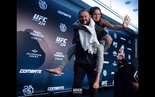 UFC 224: Amanda Nunes Post-Fight Press Conference – MMA Fighting