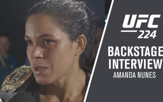 "UFC 224 Amanda Nunes:  ""She's Gonna Give UP"""