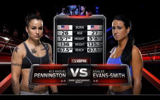 UFC 224 Free Fight: Raquel Pennington vs Ashlee Evans-Smith