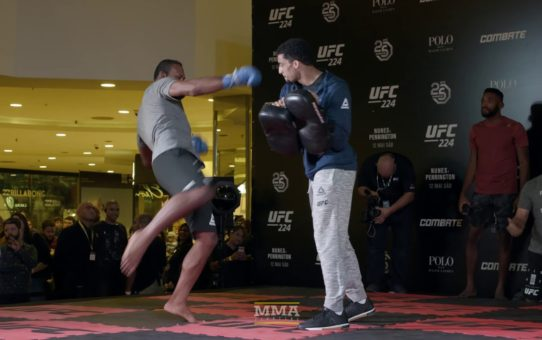 UFC 224: Jacare Souza Open Workout Highlights – MMA Fighting
