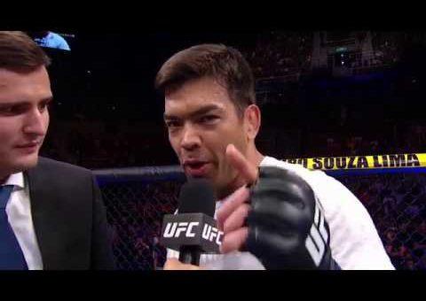 UFC 224: Lyoto Machida Octagon Interview