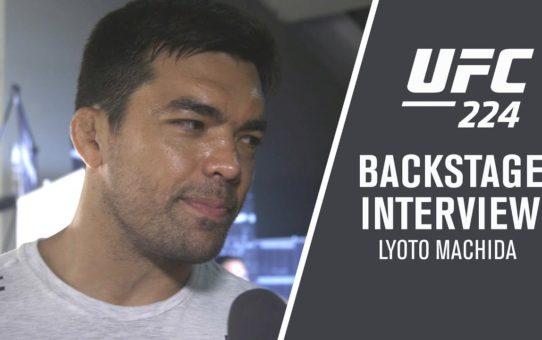 "UFC 224: Lyoto Machida ""There is Pressure to Fight in Brazil"""