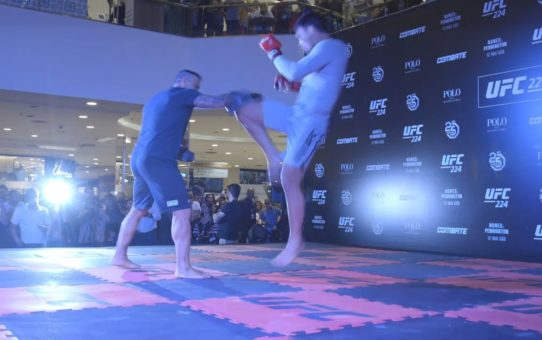 UFC 224: Open Workout Highlights