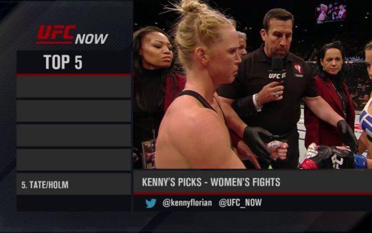 UFC Now: Top 5 Women's Fights