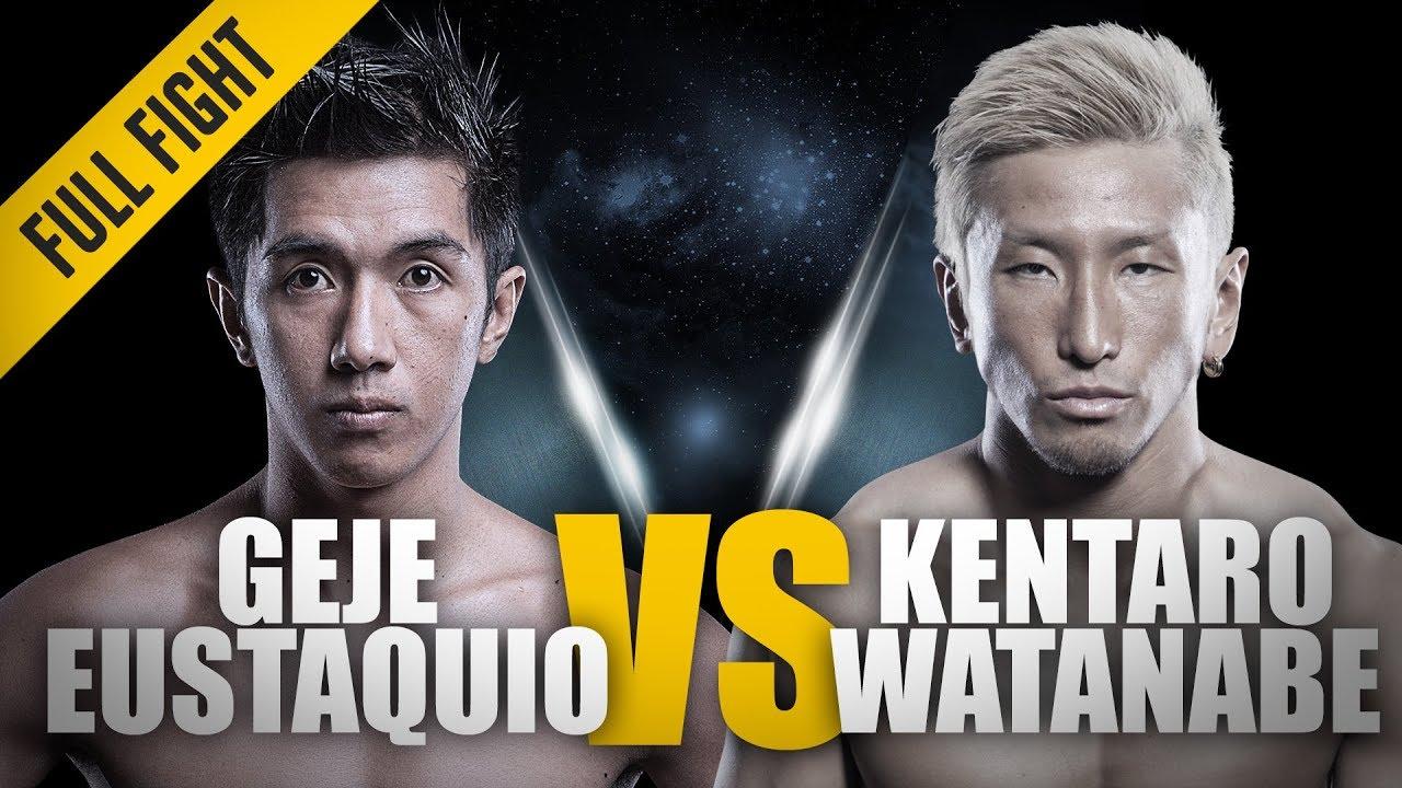 ONE: Full Fight | Eustaquio vs. Kentaro Watanabe | Flyweight Face-Off | June 2014