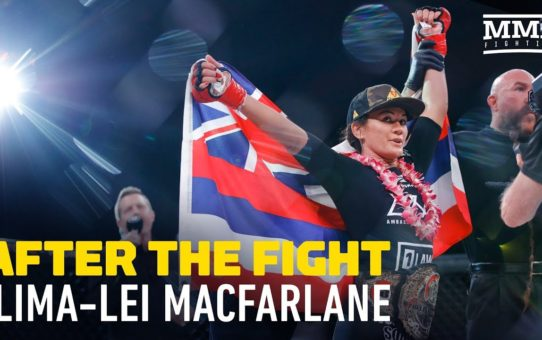 After The Fight: Ilima-Lei Macfarlane at Bellator 201 – MMA Fighting