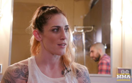 UFC 225: Megan Anderson Was 'More Nervous' For Last Invicta Fight Than Octagon Debut