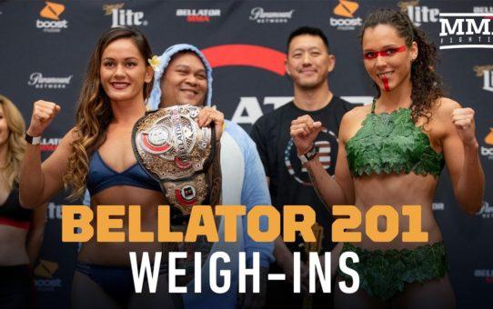 Bellator 201 Ceremonial Weigh-ins – MMA Fighting