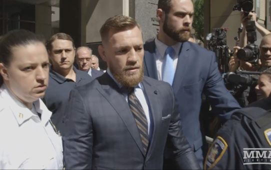 Conor McGregor Appears at Brooklyn Courthouse, Releases Statement – MMA Fighting