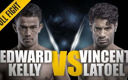 ONE: Full Fight | Edward Kelly vs. Vincent Latoel | A Ferocious KO | August 2016