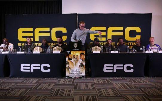 EFC 71 Fight Week Press Conference