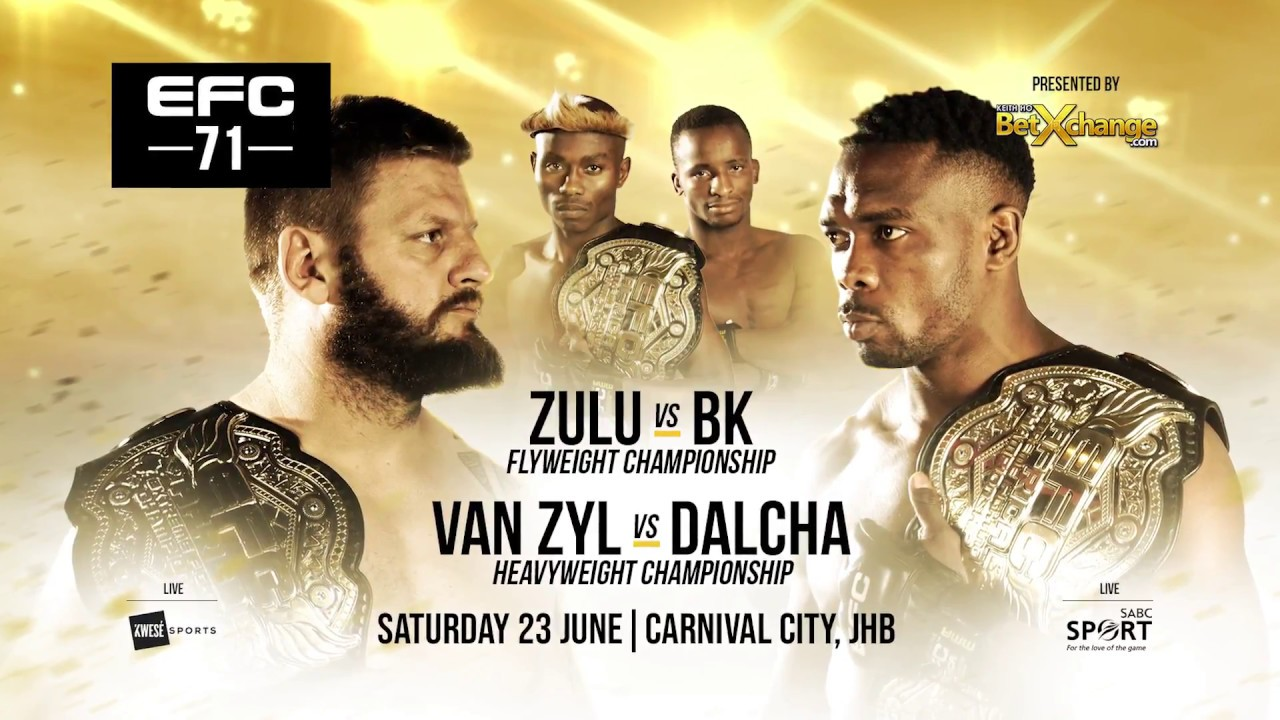 EFC 71 Knuckle-Up and Throw Down