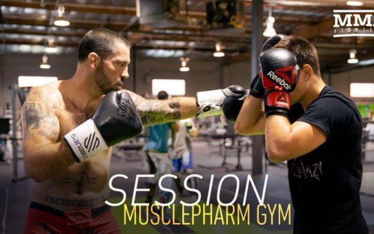 Session: MusclePharm Gym with Matt Brown, Alan Jouban, Joe Schilling, More – MMA Fighting
