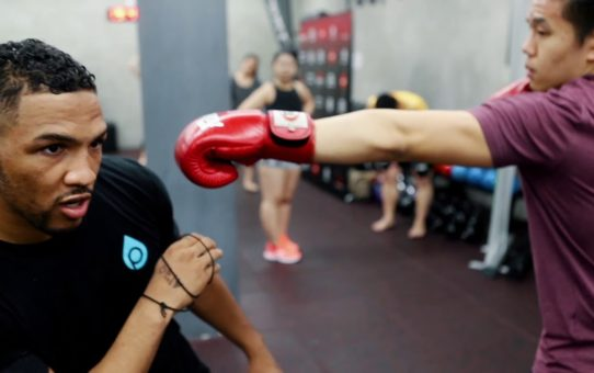 Fight Night Singapore: Kevin Lee Trains with Locals