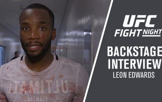 Fight Night Singapore: Leon Edwards – 'I'm Not Slowing Down For Nothing'