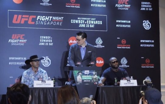 Fight Night Singapore: Press Conference Highlights