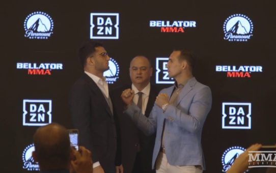 Gegard Mousasi vs. Rory MacDonald Bellator Staredown – MMA Fighting