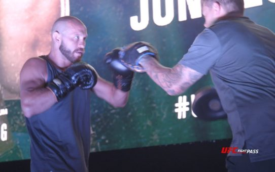 Fight Night Singapore: Donald Cerrone & Leon Edwards Open Workout Highlights