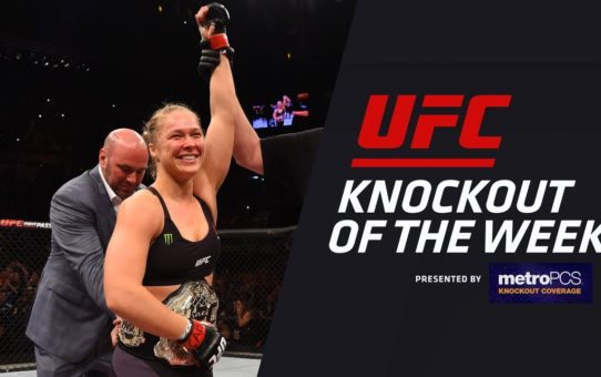 KO of the Week: Ronda Rousey vs Bethe Correia