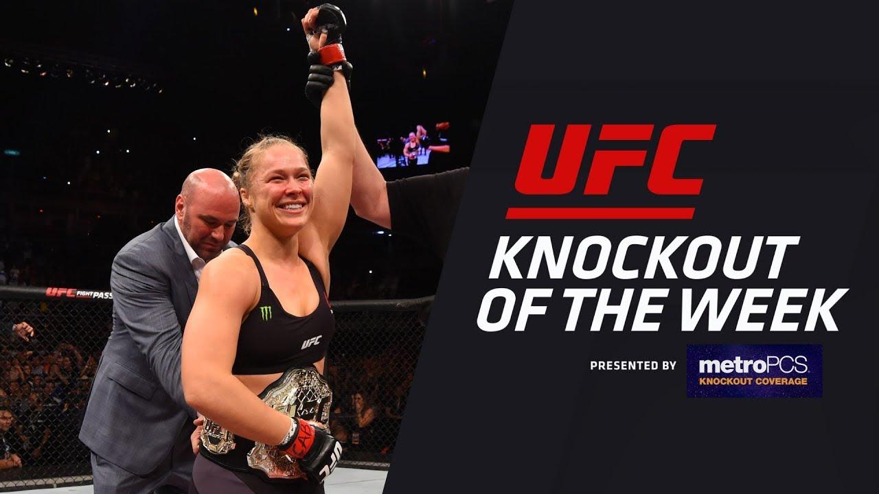 KO of the Week: Ronda Rousey vs Bethe Correia