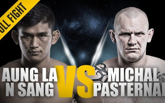 ONE: Full Fight   Aung La N Sang vs. Michal Pasternak   Intense Battle   October 2016