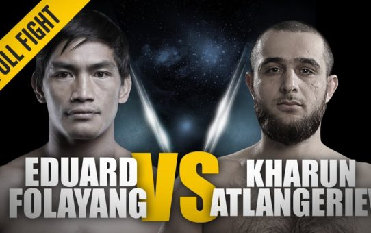 ONE: Full Fight | Eduard Folayang vs. Kharun Atlangeriev | Signature Kicks | May 2018
