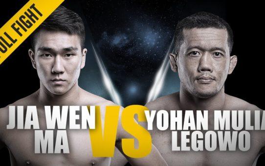 ONE: Full Fight | Ma Jia Wen vs. Yohan Mulia Legowo | Crisp Combinations | March 2017