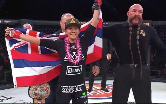 Bellator 201: Ilima-Lei MacFarlane vs. Alejandra Lara – Full Fight Highlights