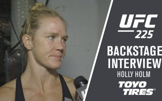 "UFC 225: Holly Holm – ""Every Fight Has It's Own Journey and it Feels Good to Have a Victory"""