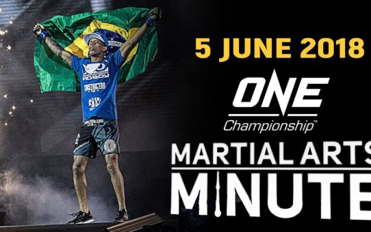 Martial Arts Minute | 5 June 2018