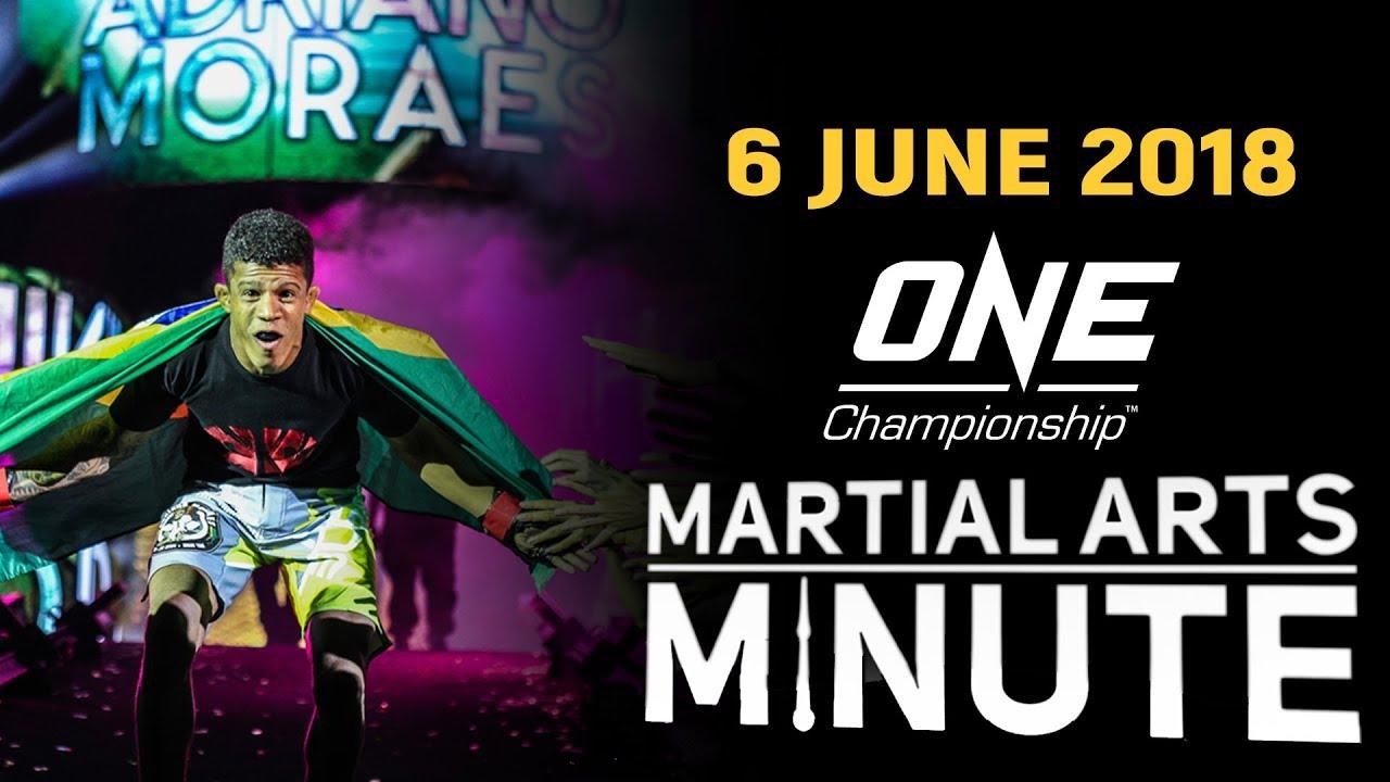 Martial Arts Minute   6 June 2018