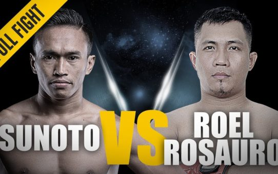 ONE: FULL FIGHT | Sunoto vs. Roel Rosauro | Grappling Greatness | May 2018