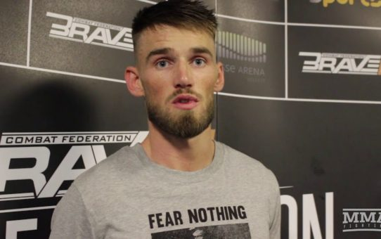 Cian Cowley Talks Upcoming Court Case Following Brooklyn Bus Fracas, First-Round Win At Brave CF 13