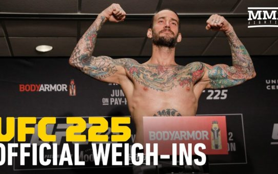 UFC 225 Official Weigh-Ins – MMA Fighting
